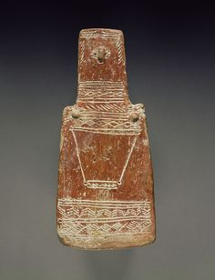 Red Polished Ware Plank Figure; Unknown; Cyprus; about 2000 - 1900 B.C.; Terracotta; 20.3 cm (8 in.); 2001.80