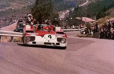 Targa Florio 1972. De Adamich / Hezemans, Alfa Romeo T33/TT/3.