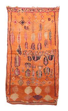 "Boujad Vintage Moroccan Rug -- 5'9"" x 10'0"" on Chairish.com for sarah... beautiful and not unreasonable!  $1400 I think"