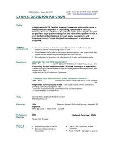 Sample Lpn Nursing Resume  Google Search  Career