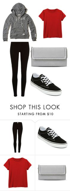"""Keilana Inspired"" by bethany-franco on Polyvore featuring Vans, Hollister Co. and STELLA McCARTNEY"