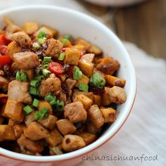 Pork with dried tofu stir-fry|ChinaSichuanFood