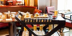 Relax and reboot with a cup of tea from our Jing tea Trolley at 45 Park Lane