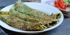 Spinatpandekager uden mel Lchf, Feta, Zucchini, Protein, Tacos, Low Carb, Carp, Vegetables, Ethnic Recipes