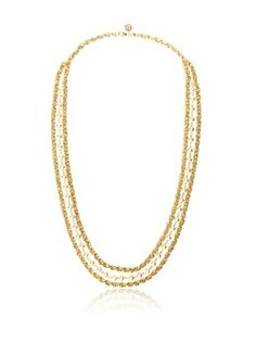 64% OFF Ben-Amun 24K Gold-Plated Glass Pearl Long Layer Necklace