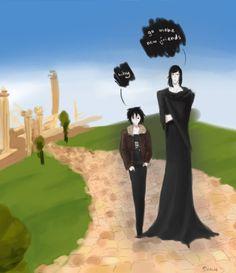 I relate to Nico on a spiritua level^^ Nico di Angelo and Hades in Heroes of Olympus/ Percy Jackson (art bs ShalieShalie)