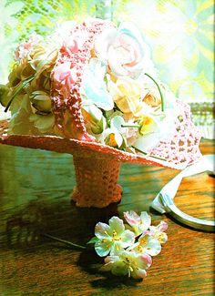 Items similar to PDF Vintage Crochet Pattern Basket Dainty Victorian Doll Wedding Kitsch Lace Bridesmaid Easter Home Decor Heirloom Keepsake Gift Summer on Etsy Crochet Motif, Knit Crochet, Crochet Patterns, Vintage Knitting, Vintage Crochet, Victorian Dolls, Baby Christening, Retro Home Decor, Vintage Crafts