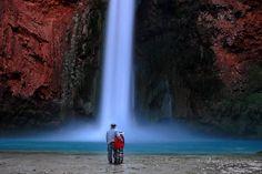 The waterfalls of Havasu Canyon. Discovered by Matador Network at Havasu Canyon, Coconino County, Arizona Oh The Places You'll Go, Places To Visit, Trip To Grand Canyon, And So It Begins, On The Road Again, Arizona Travel, Arizona Trip, Whitewater Rafting, Best Hikes