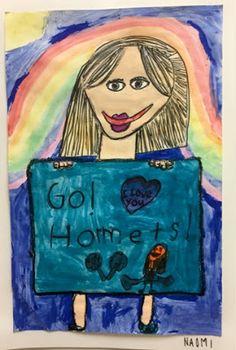 Kim & Karen: 2 Soul Sisters (Art Education Blog): Me and My Sign!