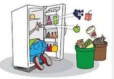 Spring Cleaning Challenge March 4 - The Fridge
