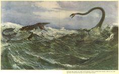 classic: elasmosaurus_mosasaur_buian.jpg 5572×3487 pixels