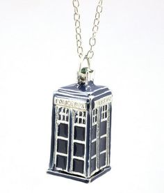 Doctor Who Blue Tardis Necklace - We love a tiny Tardis and this necklace is one of our faves. Commemorate your Doctor Who binge-watch sessions with this adorable and functional blue Tardis Necklace. Really a must have for every fan and companion. Maybe the Doctor would wear one too and you guys could call them Best Friend Necklaces! Oh, the possibilities…..