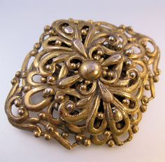 Vintage Victorian Revival Gilded Open Work by BrightEyesTreasures, $19.99