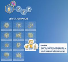 Romance Aspiration by (Sims The Romance aspiration from The Sims 2 is back! The original aspiration had 6 levels and each were different depending on age. So I took the Los Sims 4 Mods, Sims 4 Game Mods, Die Sims 4 Packs, Sims Traits, Sims 4 Gameplay, Play Sims, Sims 4 Mm Cc, Wicked, Sims 4 Update