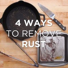 4 Ways To Remove Rust