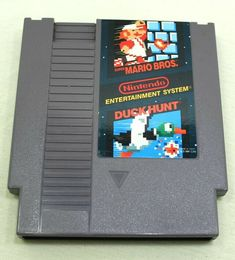 Super Mario Bros Duck Hunt Nintendo NES Cartridge/Sleeve Super Mario Brothers, Super Mario Bros, Duck Hunt Nes, Nes Cartridge, Nintendo, Nes Games, Mario Bros., Game Item, Vintage Games