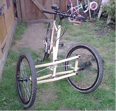 Click image for larger version. Name: Views: 2086 Size: KB ID: 1603 Bicycle Sidecar, Tricycle Bike, Three Wheel Bicycle, Reverse Trike, Push Bikes, Cargo Bike, Pedal Cars, Electric Scooter, Bike Design