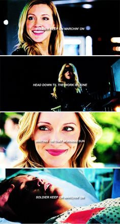 Dinah Laurel Lance, always trying to save the world. #arrow