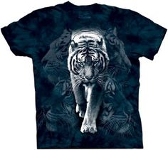 The Mountain White Tiger Stalk T-shirt  Amazon.co.uk  Clothing 980816102170