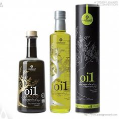 Award Winning Oi1 For Candiasoil #OliveOil #packaging #design PD
