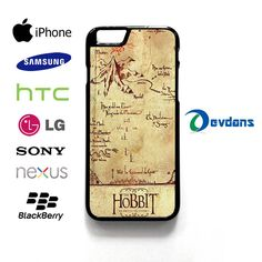 the hobbit lonely mountain map case for iPhone, iPod, Samsung Galaxy,HTC,LG,Sony,Nexus,Blackberry