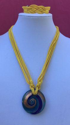 Beautiful Set of Necklace Bracelet / by MyCreationsDesigns on Etsy