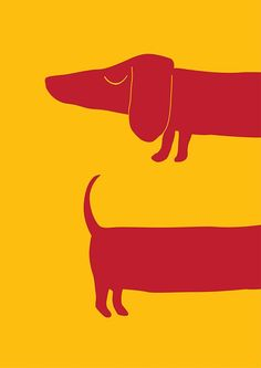dog art Wanted to draw a sausage dog, so I did. Nothing else more to add.Hes my XL sausage dog! Art And Illustration, Graphic Design Illustration, Text Poster, Dachshund Art, Daschund, Posca Art, Dog Tattoos, Dog Design, Dog Art