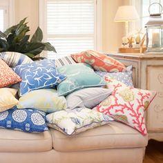 Shop · Coastal Home Pillows
