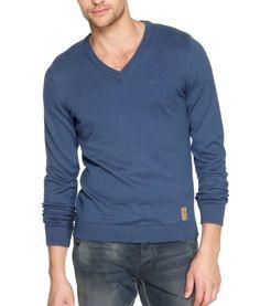 QS by s.Oliver Herren Pullover 40.309.61.2101, Gr. 44 (S), Blau (5724) - [ #Germany #Deutschland ] #Bekleidung [ more details at ... http://deutschdesign.apparelique.com/qs-by-s-oliver-herren-pullover-40-309-61-2101-gr-44-s-blau-5724/ ]