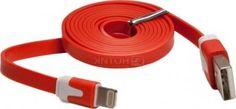 Кабель IQfuture для iPhone, iPad, iPod Apple Lightning port/USB 2.0 IQ-AC01/R, Красный