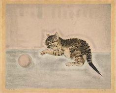 Tsuguharu Foujita, Chaton avec une balle