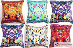 Floral Indian cushion covers | eBay UK | eBay.co.uk