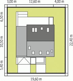 II ECONOMIC is a house that proves that modest form of simple and cheap to implement a gable. Small Modern House Plans, Modern Bungalow House, Physics Classroom, Gable Roof, Good House, Architecture Design, Kitchen Design, Floor Plans, House Design