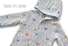 The Herdy Company - Shop - Herdy Baby - Reversible hoodie