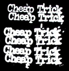 Cheap Trick ~ I've seen them many times. Had front row seats this summer, what a fantastic show! Sound Of Music, Kinds Of Music, My Music, Music Lyrics, Great Bands, Cool Bands, Rockband Logos, Hard Rock, Skate