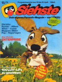 """1979 brachte die Hörzu eine Fernsehzeitschrift für Kinder auf den Markt: """"Siehste""""."""