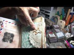 Mini Envelope Travel Junk Journal - YouTube