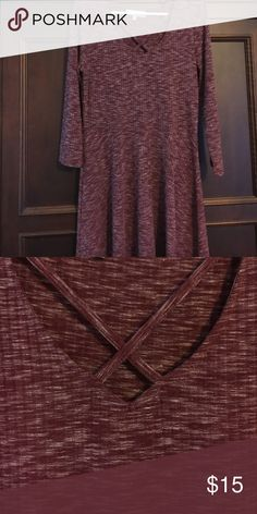 Dress with crisscross top Never worn Almost Famous Dresses Mini