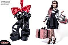Model: Silver Wolfie    #alternative #gothic #goth #fashion #ombrehair #ombre #purple #alternativegirl #gothicgirl #killstar #lookbook #attitudeholland #attitudeclothing #święta #christmas #prezent #present #gift #sylwester #newyear #redlips #blacklips #leather #heels #midnight #magic #beautiful #portrait #portret #models #alternativemodel #poland #polska #topmodel #retro #makeup #stylization #dark #kokarda #bow #legs #nogi #pleaser #punkrave #sesja #photoshoot #studio #fashion #timbur...