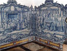 Azulejos em Elvas   portugal