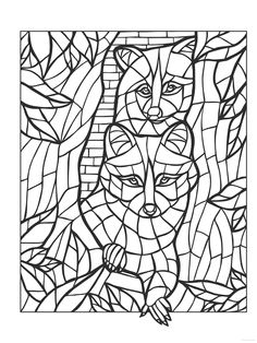 Welcome To Dover Publications Creative Haven Animal Mosaics