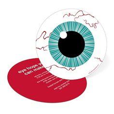 Eye Got You! -- Halloween Eyeball Party Invitation