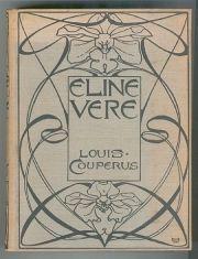 Louis Couperus, Eline Vere (herdruk 1898) band ontworpen door L.W.R. Wenckebach