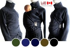 Maternity. Baby Wearing. Babywearing Coat. by MaternityClothes