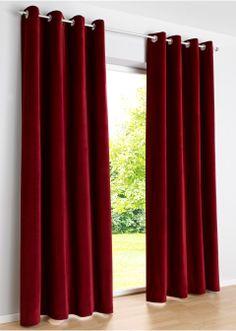 "Samt Vorhang ""Samira"", Kräuselband creme - bpc living online kaufen - bonprix.de"