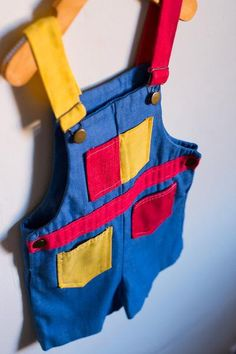 Healthtex Multi-Color Jumper by EverythingJiggy on Etsy