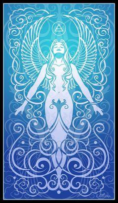 "Elements Air:  ""Air Spirit,"" by Cristina McAllister."