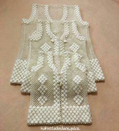 Modesty Vest Top pattern by maybebaby designs Gilet Crochet, Crochet Motifs, Crochet Cardigan Pattern, Crochet Shirt, Vest Pattern, Top Pattern, Knitting Machine Patterns, Easy Knitting Patterns, Crochet Stitches Patterns