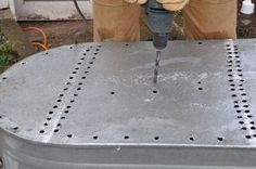 DIY Water Trough Planter