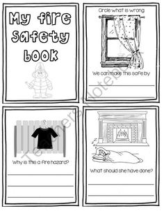 math worksheet : 1000 images about fire safety on pinterest  fire safety smoke  : Fire Safety Worksheets For Kindergarten